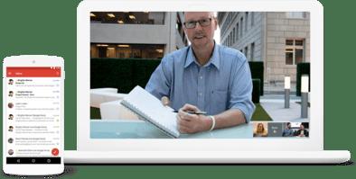 correos corporativos gsuite videoconferencia